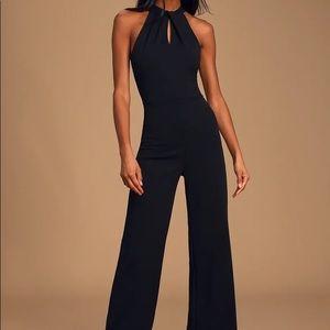 Lulus Pure Elegance Jumpsuit M
